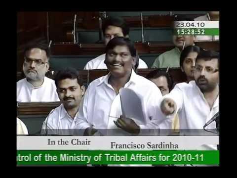 Part 4: Ministry of Tribal Affairs for 2010-11: Sh. Arjun Munda: 23.04.2010