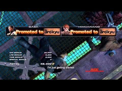 Tekken Tag Tournament 2 - [Medium - Arcade Battle] - Baek & Hwoarang Playthrough
