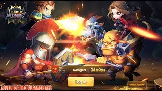 League of Avengers: Champion Legend Gameplay (Android iOS)
