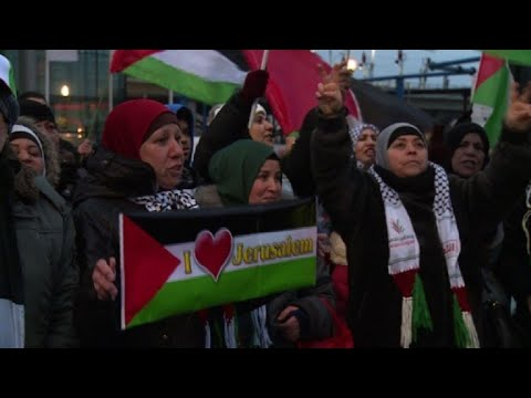 Fresh protests in Berlin against US Jerusalem recognition