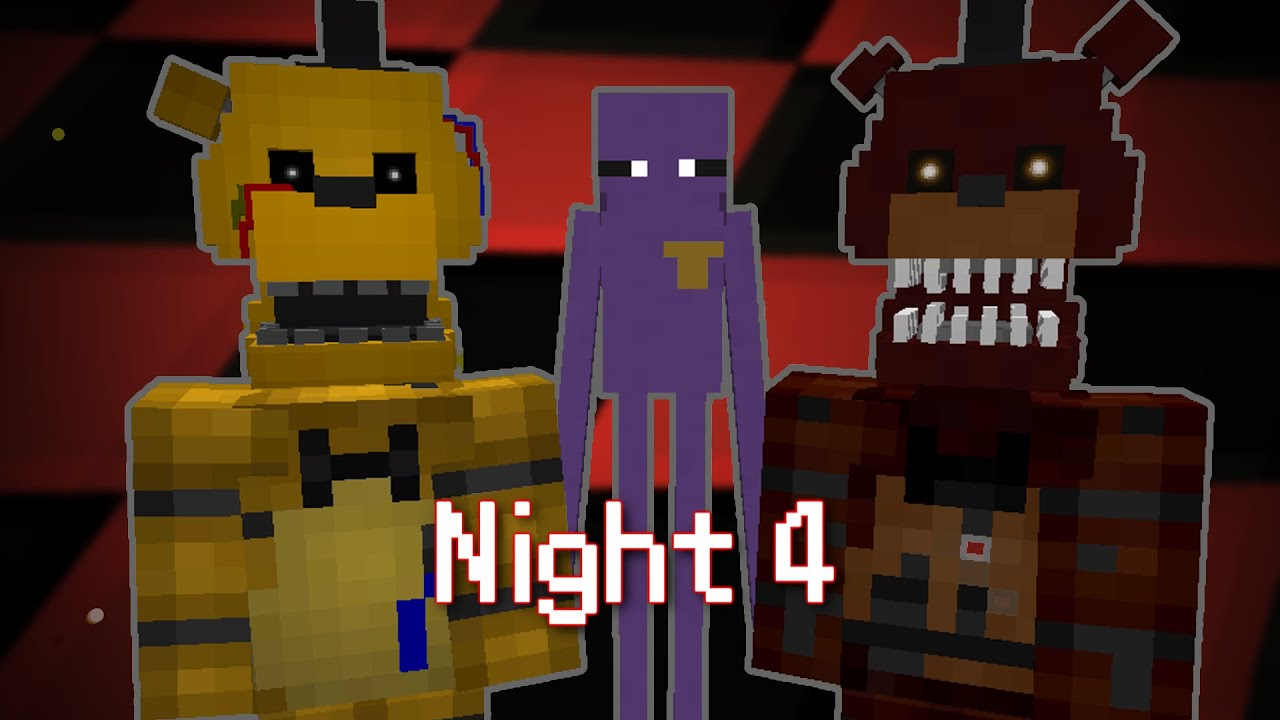 MINE Nights at Freddy's 2 - FACTORY | Night 4 | FNAF Minecraft Roleplay