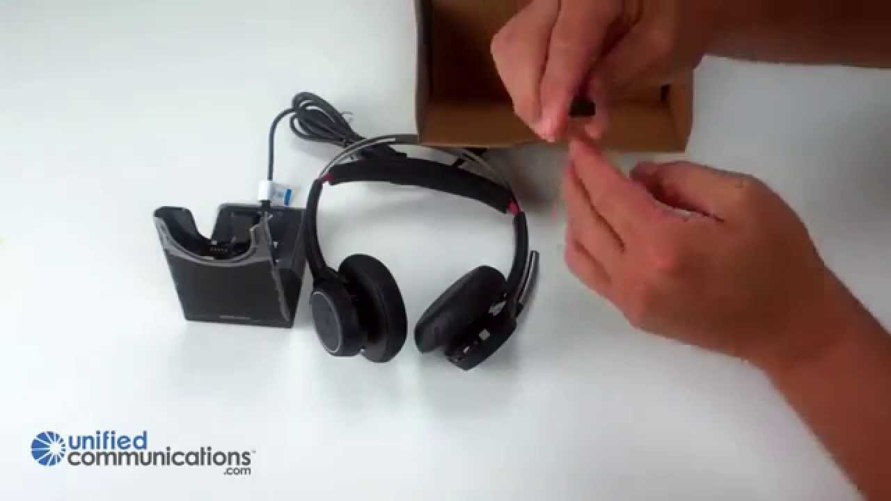 Plantronics Voyager Focus Uc B825 Bluetooth Headset