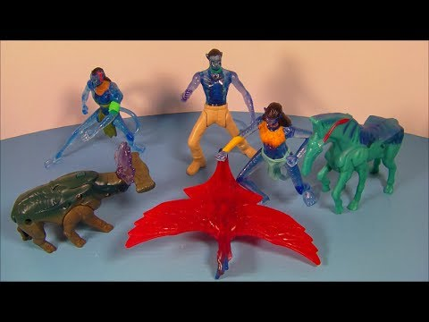 2013 Epic McDonalds Happy Meal Toy full set of 6