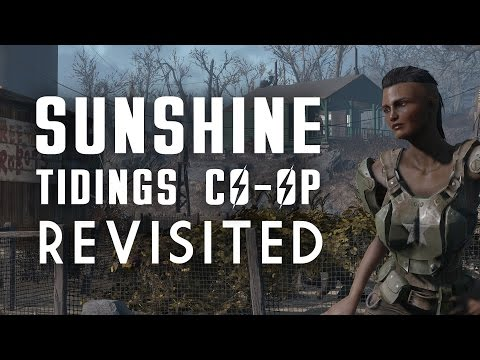 """Sunshine Tidings Co-op Revisited - A """"Lived-in"""" Settlement Build - Fallout 4"""