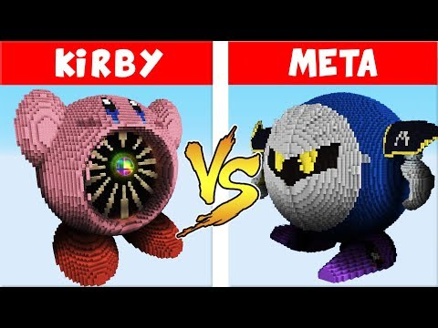 Super Smash Bros. Ultimate vs. Minecraft - (Kirby vs Meta Knight)