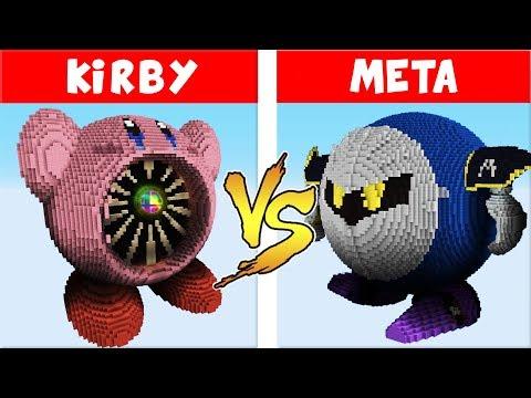 Super Smash Bros. Ultimate vs. Minecraft - (Kirby vs Meta Knight) thumbnail