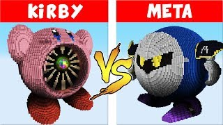 - Super Smash Bros. Ultimate vs. Minecraft Kirby vs Meta Knight