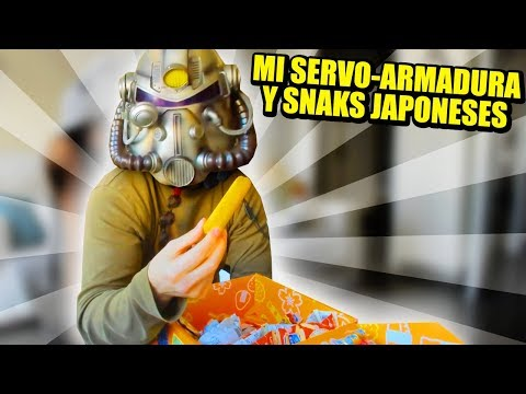 DOBLE UNBOXING: SERVO ARMADURA Y TOKYO TREAT