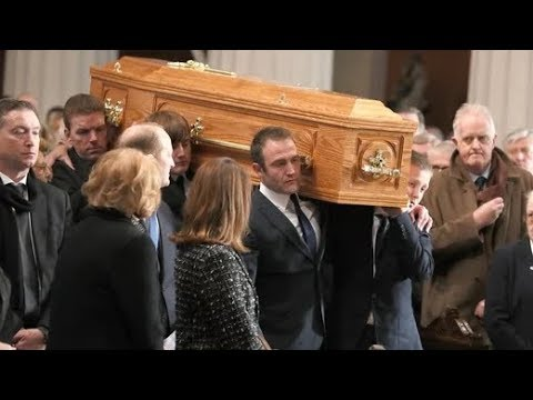 Funeral Of Gay Byrne Takes Place In Dublin