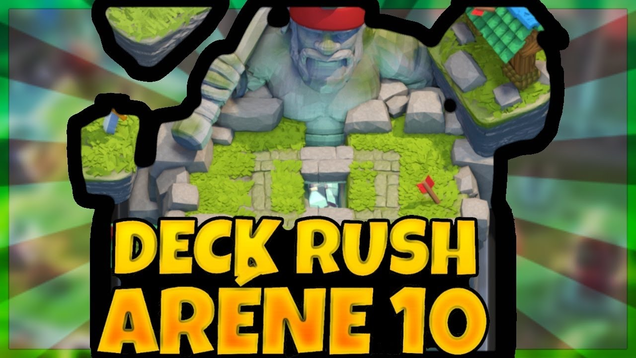 Clash royale deck ar ne 10 a 3500 troph es youtube for Deck arene 5 miroir