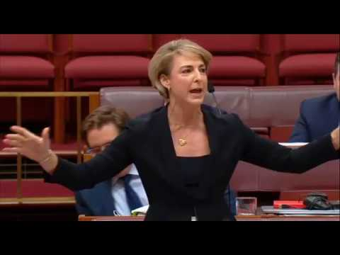 "Michaelia Cash performs to ""Dance Of The Sugar Plum Fairy"""