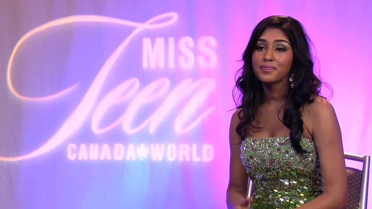 Miss teen canada world