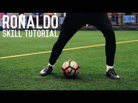 Cristiano Ronaldo Stepover Chop | Champions League Skill Tutorial