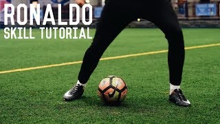 Cristiano Ronaldo Stepover Chop   Champions League Skill Tutorial