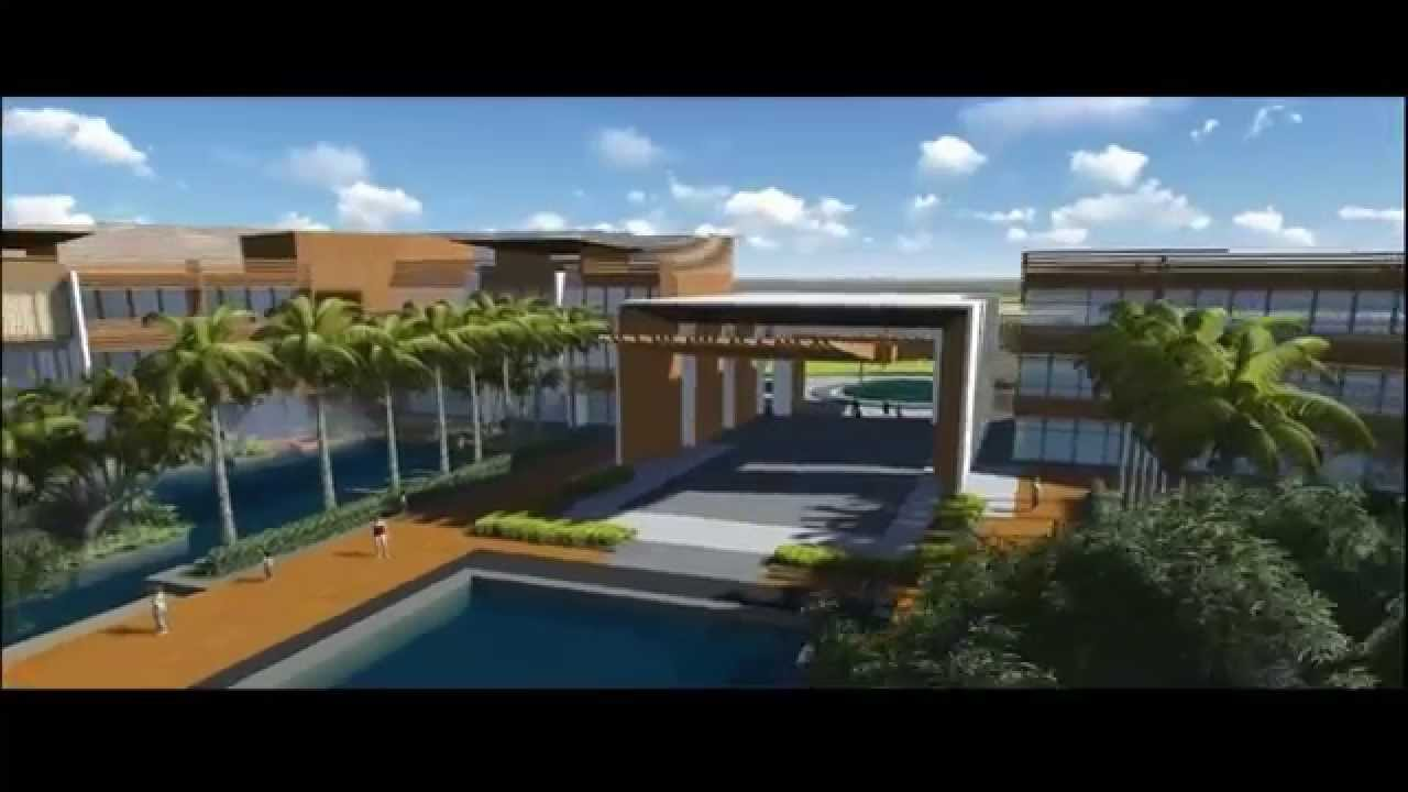 Nantian modern style hotel landscape design by kv art for Art hotel design