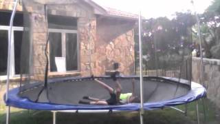 The Best Trampoline Wrestling Ever 2