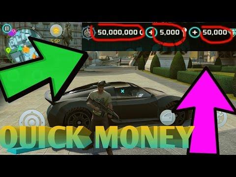 gangstar vegas how to get money fast