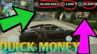Gangstar Vegas - How To Get Money FAST (NEW 2016)