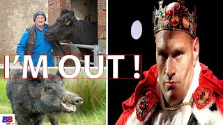 (WOW) TYSON FURY CLEARED, FARMER MARTIN CAREFOOT WITHDRAWS STATEMENT, SAY TO MANY PROBLEMS HE FACING