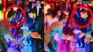 Dhanush and Anirudh dancing together  at Soundarya Rajinikanth Wedding