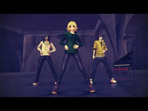 【MMD|||Creepypasta】BTS - Danger