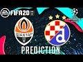 Shakhtar Donetsk vs Dinamo Zagreb UEFA Champions League Matchday 3 - Score Prediction FIFA20