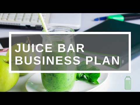 Juice bar business plan youtube malvernweather Choice Image