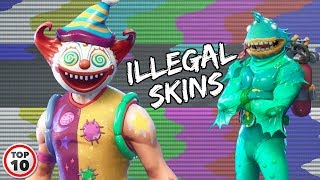 Top 10 Fortnite Skins That Should Be Illegal