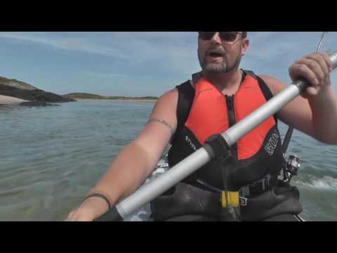 Sea Kayaking at Cymyran Bay Above and Below Water in Angelsey