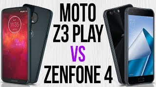 Moto Z3 Play vs Zenfone 4 (Comparativo)