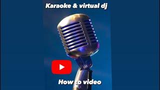 karaoke con virtual dj