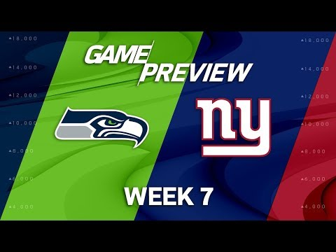 Seattle Seahawks vs. New York Giants | Week 7 Game Preview | NFL