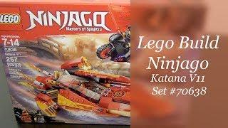 LEGO Ninjago Build - Katana V11 Set #70638
