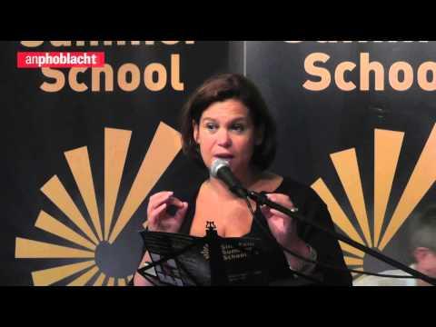 Mary Lou McDonald TD speech on a United Ireland at Sinn Féin Summer School