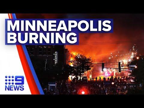 Minneapolis protests erupt