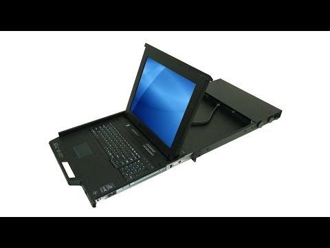KD8198 - 19 inch LCD Keyboard Drawer & 8-port KVM switch