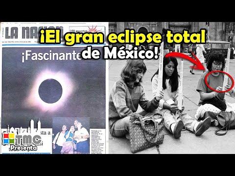 EL GRAN ECLIPSE TOTAL DE SOL EN MÉXICO DE 1991 ¿TE ACUERDAS?