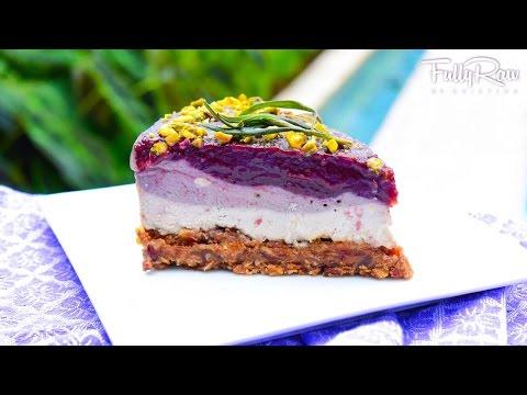 FullyRaw Lavender Cheesecake!