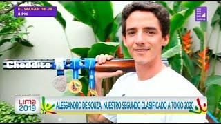 Alessandro de Souza, nuestro segundo clasificado a Tokio 2020 - Lima 2019