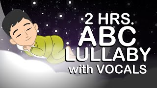 ABC LULLABY with VOCALS | CALMING MUSIC FOR BABIES | Learn Simply TV