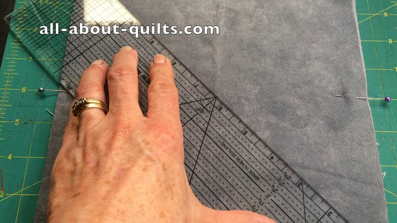 Sewing A Rag Quilt Block 2 Youtube