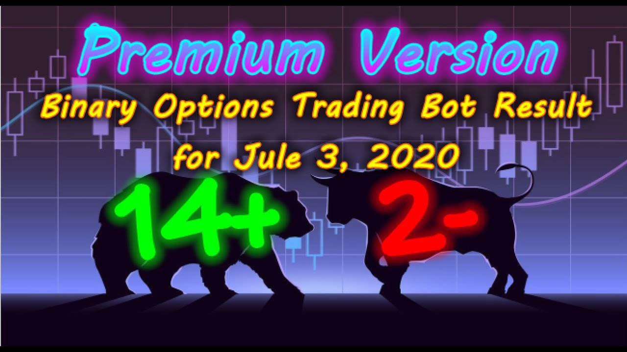 Binary Options Bot Trading Report for July 3, 2020 (14+ 2 ...