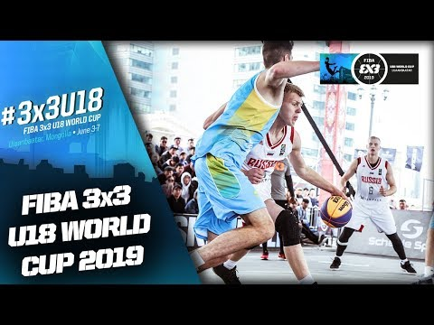Russia v Ukraine | Men's Full Game | FIBA 3x3 U18 World Cup 2019