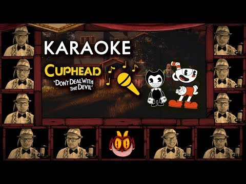 "CUPHEAD SONG ""Brothers in Arms"" KARAOKE A Cappella Cover / Sing-along LYRIC Video"