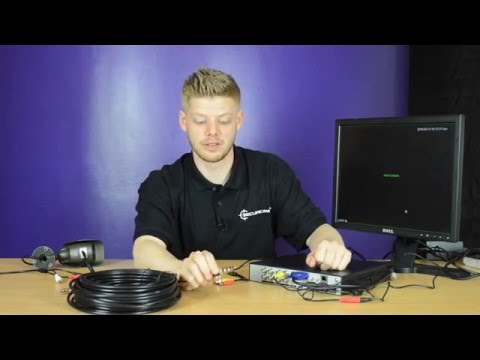 How To Add A Microphone To Your CCTV Camera System - www.cctvtek.co.uk