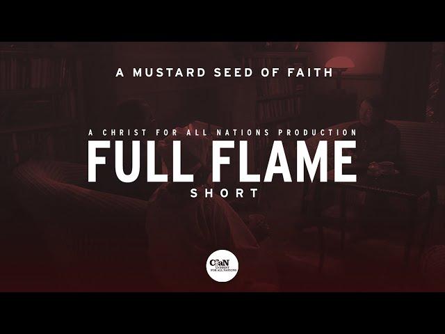 A mustard seed of faith