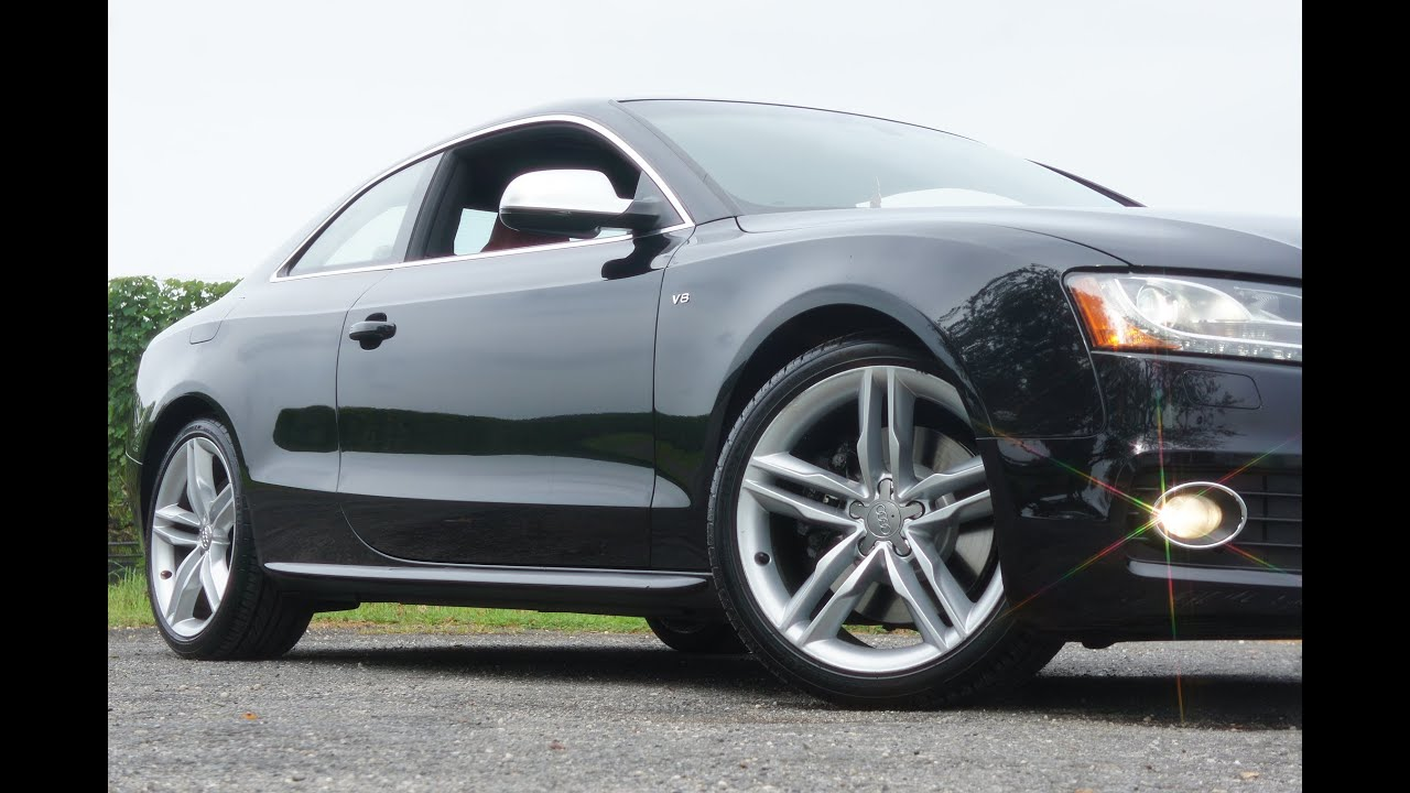 2010 audi s5 prestige quatro coupe for sale black magma red recaro seats navigation [ 1280 x 720 Pixel ]