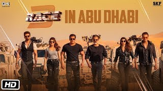 Race 3 | BTS of Race 3 in Abu Dhabi | Salman Khan | Remo D'souza