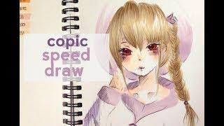 Dawn🌙 |Copic Speed Draw