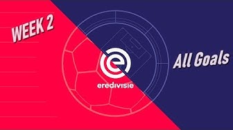 Eredivisie 2019/2020 | Game Week 2 | All Goals | Netherlands